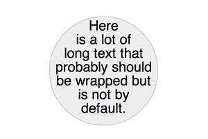 SVG Text Wrapping - bl ocks org